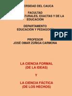 ciencias formales y fcticas
