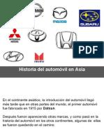 6 Historia del automóvil en Asia