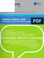 Studie OpenSource ERP