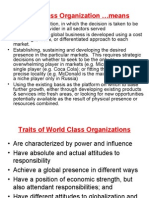 4.1 11 Steps to Create World Class Organizations