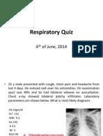 Respiratory Quiz