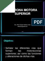 22.- Neurona Motora Superiror