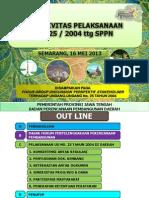 Efektivitas UU 25 Ttg SPPN
