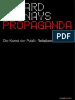 Propaganda Public Relations Bernays Edward Der