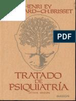 LIBRO-Ey Henri - Tratado de Psiquiatria (8ed)