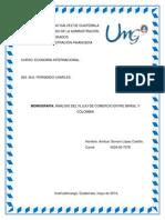 Monografía Flujo Comercial Entre Brasil y Colombia