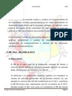 Peru y El PBI 2000 - 2013