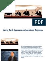 World Bank Assesses Afghanistan's Economy
