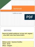 Idk Hemoroid Ppt