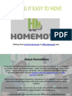 Making Your Furniture Removals or Office Removals easy