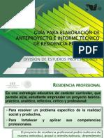 Guía Para Elaboración de Anteproyectos e Informe Téc Nico de RP Final