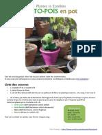 Patron Gratuit Plantes vs Zombies Pistopois Fr by Retsnimel-d6i8iwe