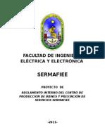 Proyecto de Reglamento Interno Del Sermafiee-final-05-Febrero- 2011