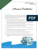 Efficient Vacuum Distillation