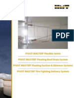 Pivot Master Floating Roof Drain System