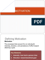 Motivation Robbins