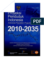 Buku Proyeksi Penduduk Indonesia Periode 2010 - 2035