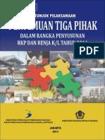 Petunjuk Pelaksanaan Pertemuan Tiga Pihak 2014