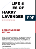 life and crimes of harry lavender 2 essay