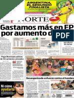 Periódico Norte edición del día 10 de julio de 2014