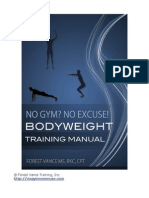 Bodyweight Training Manual