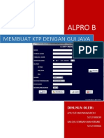 Form KTP dengan Java