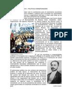 Argentina 1880-1916 – Política Conservadora