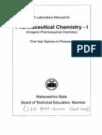 Pharmaceutical Chemistry - I(5Exp)(807)