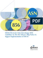 Hdma Dscsa Edi Guideline for 856 Asn