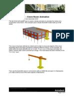 Navisworks 2011 Tip - Crane Boom Animation