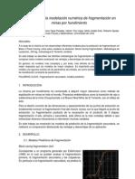 Problemas de La Modelación Numérica de Fragmentación en Minas Por Hundimiento