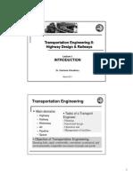Highway Design and Railway