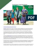 Drushyam (Drishyam) Telugu Movie Review