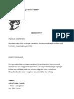 Bahan Ajar Bahasa Inggris Kelas VII SMP