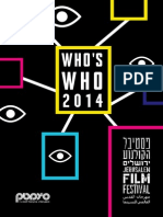 Who's Who at the 2014 JFF