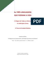 A Origem de Todas as Ciências (As Três Linguagens que Fizeram a Vida e as Definições Certas na 1ª Fase da Verdade Relativa).