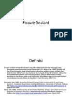 Fissure Sealant Dea
