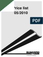 Lista Preturi Bungard 115 Ro