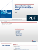 Opportunity in the Indian Building Automation Systems Market_Feedback OTS_2014