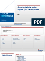 Opportunity in the Indian Engines (20 - 100 HP) Market_Feedback OTS_2014