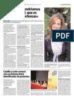 09 06 13 Norte de Castilla Sin Fibra No Tendriamos Flora Intestinal Que Es Vital Para Las Defensas Rocio Aller