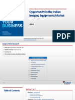 Opportunity in the Indian Imaging Equipments Market_Feedback OTS_2014