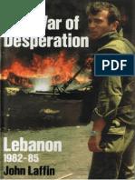Osprey - EH the War of Desperation - Lebanon 1982-1985