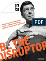 Cover Story Be the Disruptor - Clayton M. Christensen