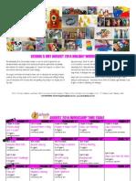 schools out august 2014 workshop calendar