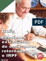 Guia Ugt Irpf Pensiones Extranjeras