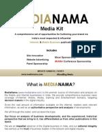 MediaNama Media Kit 2013 09 Without Rates