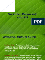 The Indian Partnership Act,1932