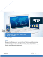 IP Multimedia Subsystem - Accelerating Service Innovation