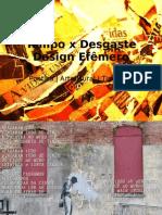 tempoX desgate_design efemero